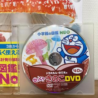 ショウガクカン(小学館)の小学館の図鑑 NEO きのこ dvdのみです ドラえもん・のび太のびっくり(キッズ/ファミリー)