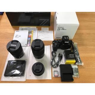 ニコン(Nikon)のZ50ダブルズームキット+NIKKOR Z24-70mm f/4 S おまけ付き(ミラーレス一眼)