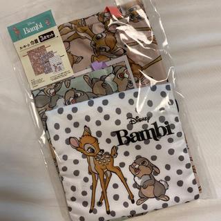 シマムラ(しまむら)の新品 ディズニー バンビ 大中小  巾着 巾着セット 3点(その他)