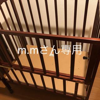 ベビーベッドミニ(東京都北区、引き取り限定)(ベビーベッド)