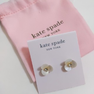 kate spade new york - 【新品】kate spade ケイトスペード ピアス ディスコ パンジー
