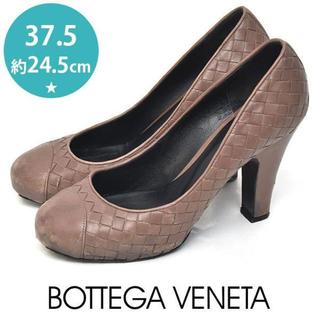 ボッテガヴェネタ(Bottega Veneta)のボッテガヴェネタ イントレチャート パンプス 37.5(約24.5cm)(ハイヒール/パンプス)