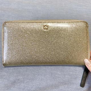 ケイトスペードニューヨーク(kate spade new york)のkate spade 長財布 キラキラシルバー(長財布)