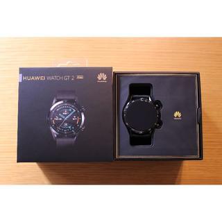 【美品】ファーウェイ HUAWEI Watch GT2 46mm Sports(腕時計(デジタル))