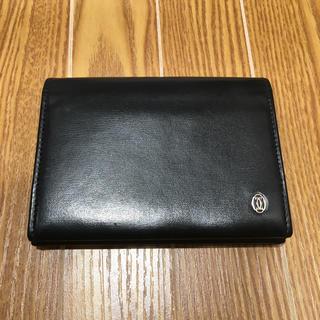 カルティエ(Cartier)のカルティエ 名刺入れ ブラック(92018664)(名刺入れ/定期入れ)