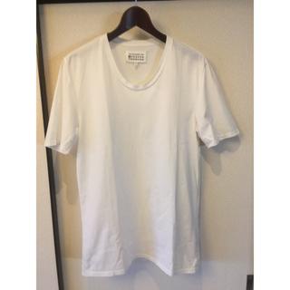 マルタンマルジェラ(Maison Martin Margiela)のメゾン マルタン マルジェラ 白 Tシャツ(Tシャツ/カットソー(半袖/袖なし))