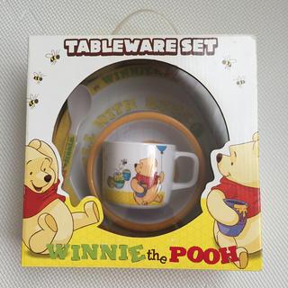 ディズニー(Disney)のくまのプーさん 子供用食器セット(離乳食器セット)