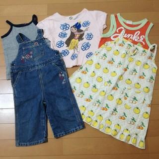 ギャップキッズ(GAP Kids)の女の子100サイズ5着セット(Tシャツ/カットソー)