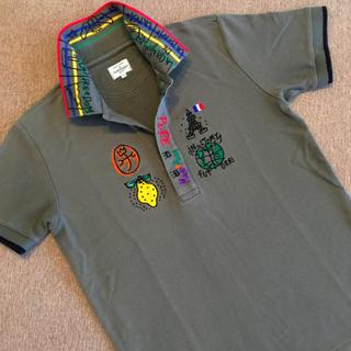 カステルバジャック(CASTELBAJAC)のカステルバジャック ポップ柄ポロシャツ🇫🇷🌍🍋✨(ポロシャツ)