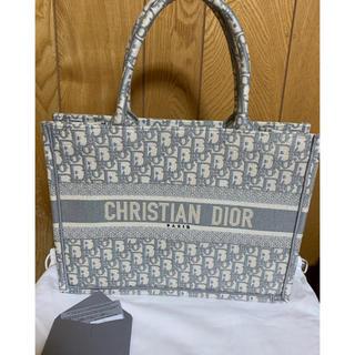 ディオール(Dior)のブックトート スモール グレー 直営店購入 未使用(トートバッグ)