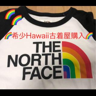 ザノースフェイス(THE NORTH FACE)の✅【HAWAII古着屋購入】THE NORTH FACE 希少TAG Tee(Tシャツ/カットソー(七分/長袖))