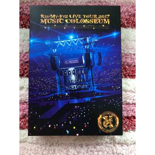 キスマイフットツー(Kis-My-Ft2)のKis-My-Ft2 MUSIC COLOSSEUM DVD 初回盤(アイドル)