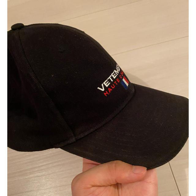 Balenciaga(バレンシアガ)のVETEMENTS CAP Houte Couture メンズの帽子(キャップ)の商品写真