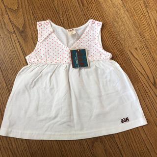 エーアーベー(eaB)の新品 エーアーベー チュニック 100cm(Tシャツ/カットソー)