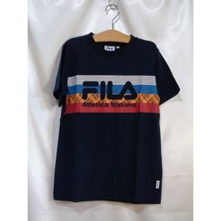 FILA - <№1706>(150cm)★FILA(フィラ)★半袖Tシャツ☆紺