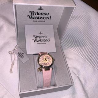 ヴィヴィアンウエストウッド(Vivienne Westwood)のvivienne westwood 腕時計 ピンク(腕時計)