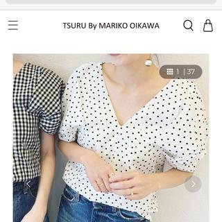 TSURU by Mariko Oikawa - ツルバイマリコオイカワ 新作 トップス Minne