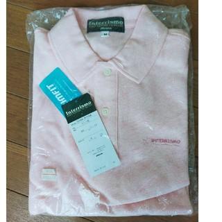 ミズノ(MIZUNO)のミズノ ポロシャツ 半袖 ピンク杢(ポロシャツ)