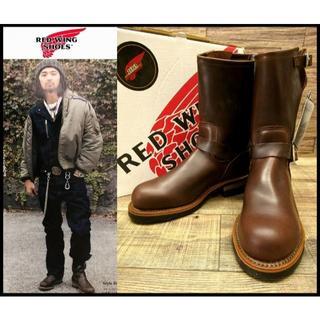 レッドウィング(REDWING)のムラジュン着 新品デッド レッドウィング 100周年記念エンジニアブーツ 7.5(ブーツ)