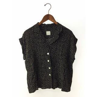 Spick and Span - スクエアドットオープンカラーシャツ