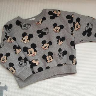 Disney - 韓国子供服 ミッキートレーナー