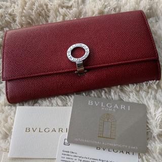 ブルガリ(BVLGARI)のブルガリ長財布☆赤(長財布)