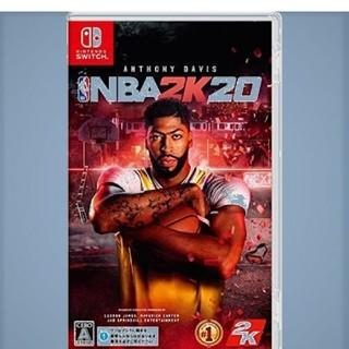 新品未開封 翌日発送 NBA 2K20  switch ソフト