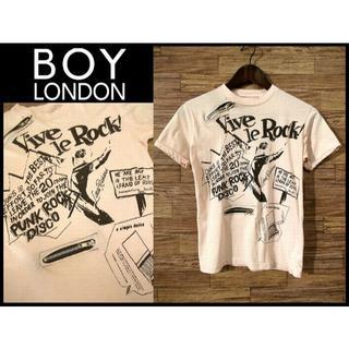 ボーイロンドン(Boy London)のaudi100様専用 希少 80s オリジナル ボーイロンドン Tシャツ 約XS(Tシャツ/カットソー(半袖/袖なし))