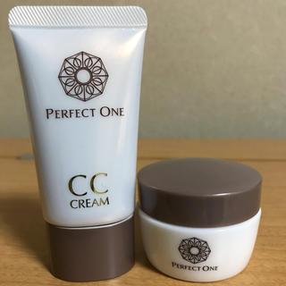 パーフェクトワン(PERFECT ONE)のパーフェクトワン CCクリーム ナチュラル モイスチャージェル 美容液ジェル(CCクリーム)
