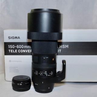 シグマ(SIGMA)のSIGMA 150-600mm F5-6.3 DG OS + TC-1401(レンズ(ズーム))