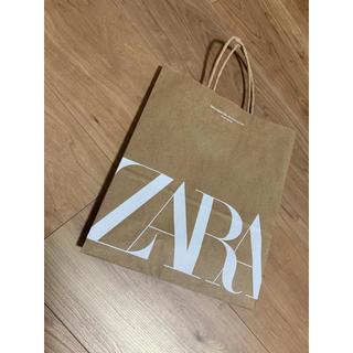 ザラ(ZARA)のzara 紙袋 ショプ袋(ショップ袋)