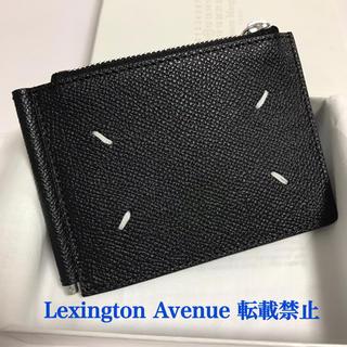 マルタンマルジェラ(Maison Martin Margiela)の新品未使用 マルジェラ マネークリップ 財布 ブラック(折り財布)