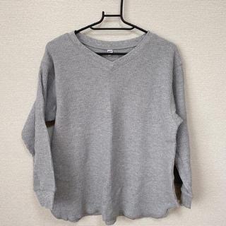 ユニクロ(UNIQLO)のユニクロ ワッフル トップス(Tシャツ(長袖/七分))