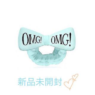 ジェラートピケ(gelato pique)の【❤️新品未開封】ダブルデア OMGヘアバンド ブルー(ヘアバンド)