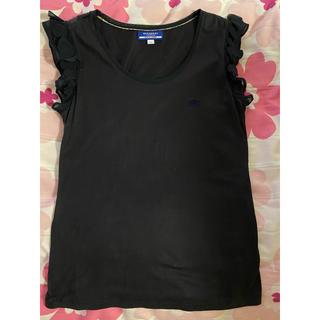 バーバリーブルーレーベル(BURBERRY BLUE LABEL)のバーバリーブルーレーベル❤︎フリルTシャツ(Tシャツ(半袖/袖なし))