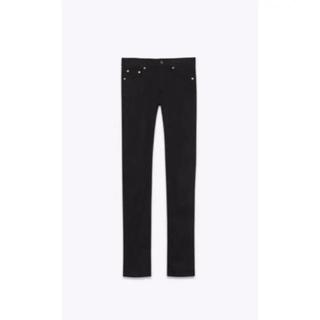 サンローラン(Saint Laurent)のSaint Laurent Paris 黒スキニー 26(デニム/ジーンズ)