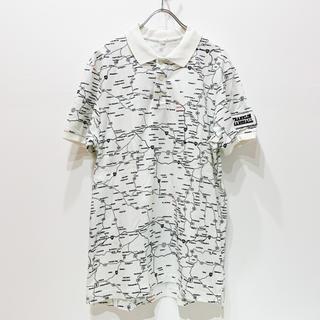 フランクリンアンドマーシャル(FRANKLIN&MARSHALL)のFRANKLIN & MARSHALL【S/S MAPプリント ポロシャツ】(ポロシャツ)