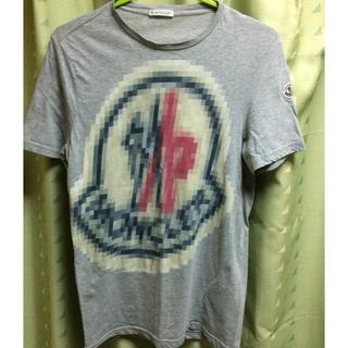 モンクレール(MONCLER)のモンクレール  Tシャツ  希少、大人気モザイクロゴ訳ありの為格安出品中!(Tシャツ(半袖/袖なし))