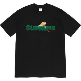 シュプリーム(Supreme)のSupreme Lizard Tee 黒 シュプリーム トカゲ Tシャツ(Tシャツ/カットソー(半袖/袖なし))