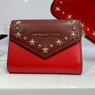 Michael Kors - 限定カラー✨Michael Kors 折りたたみ財布✨新品 レッド