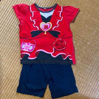 バンダイ(BANDAI)のハピネスチャージプリキュア 半袖パジャマ 上下セット 100(パジャマ)