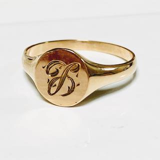 ◆激レア◆シグネットリング◆10金無垢◆10K◆ゴールドリング◆◆1号(リング(指輪))
