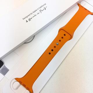 アップルウォッチ(Apple Watch)の新品 アップルウォッチ エルメス スポーツバンド 44mm AppleWatch(その他)