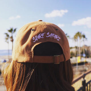 ALEXIA STAM - Instagramで人気☆LUSSO SURF 刺繍スウェードキャップ 帽子