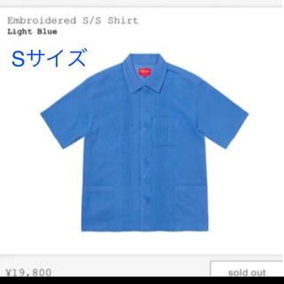 シュプリーム(Supreme)のsupreme embroidered s/s shirts(シャツ)