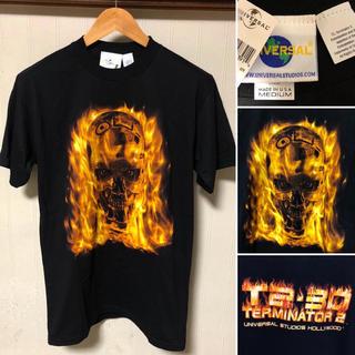 ユニバーサルエンターテインメント(UNIVERSAL ENTERTAINMENT)のUSA製 T2 ターミネーター ユニバーサルスタジオ ハリウッド Tシャツ(Tシャツ/カットソー(半袖/袖なし))