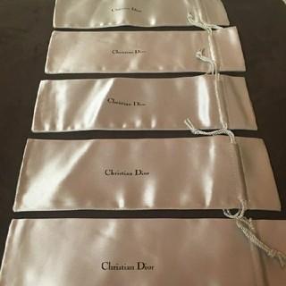 Christian Dior -  ☆クリスチャン ディオール 巾着 保存袋 5点 アクセサリーケース ペンケース