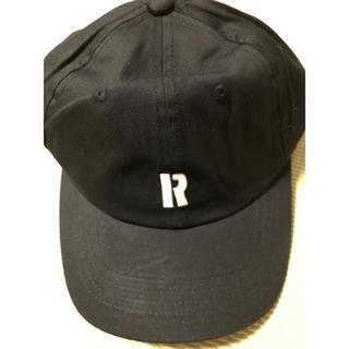 ロンハーマン(Ron Herman)のロンハーマン R キャップ ブラック(キャップ)
