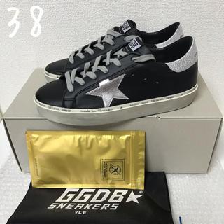ゴールデングース(GOLDEN GOOSE)の完売★今季新品 GOLDEN GOOSE ゴールデングース HI STAR 黒(スニーカー)