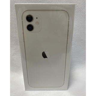 iPhone - 新品未使用未開封 SIMフリー iPhone11 64GB ホワイト